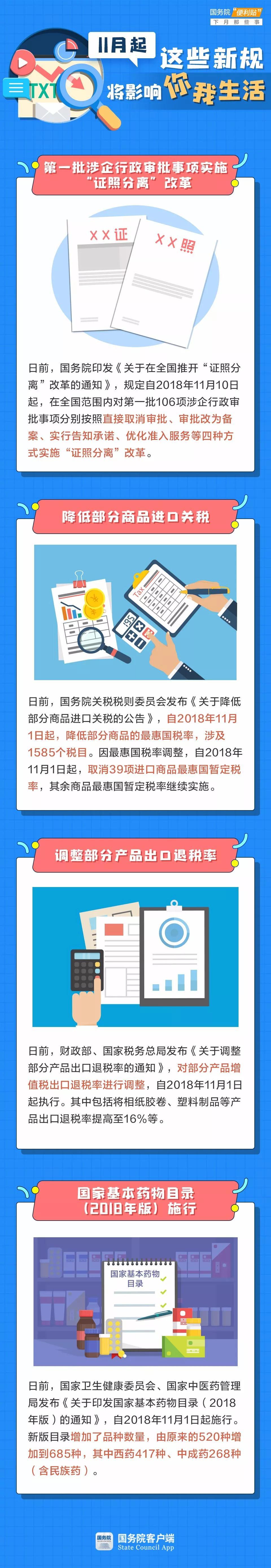 2019年云南公务员考试时政:11月新规将影响你我生活