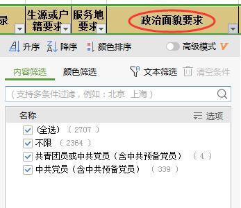 报考云南公务员考试关于政治面貌有何要求?